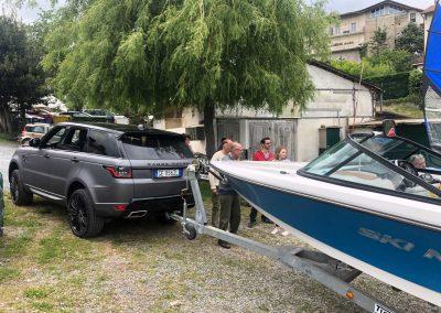 rimessaggio barche circolo nautico avigliana